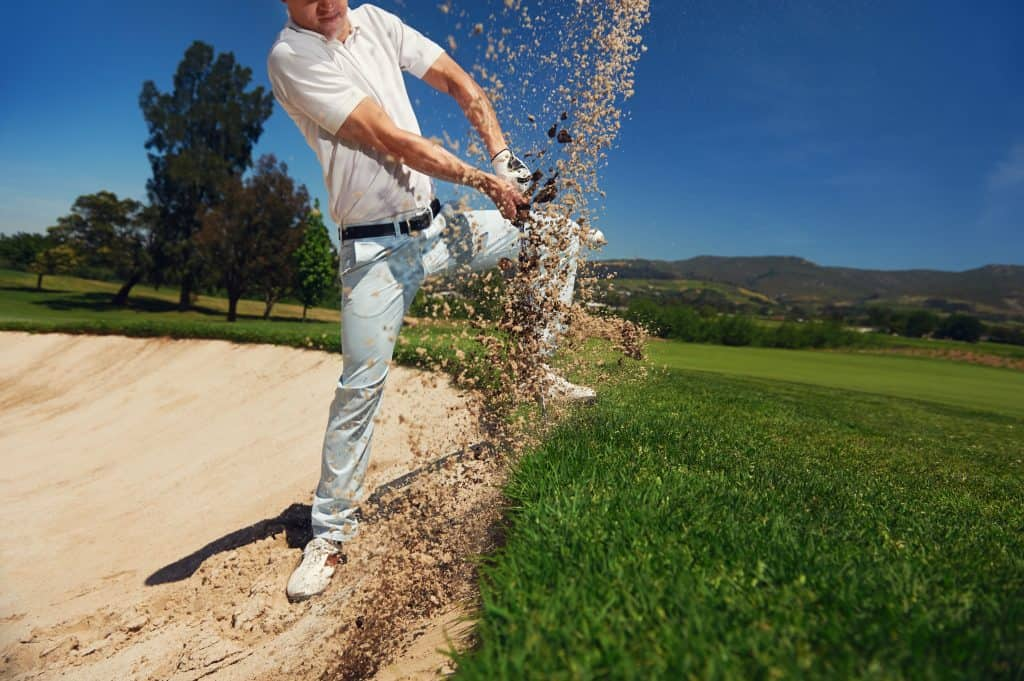 easiest wedge to hit out of sand
